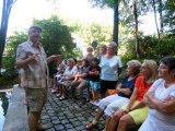 2015 - Besuch der Kapelle Frauenbrünnl und aktives Kneippen im Stadtpark