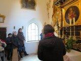 """2016 - Besichtigung der """"Zellerkapelle"""" und der Hauskapelle der Betschwestern in Straubing"""